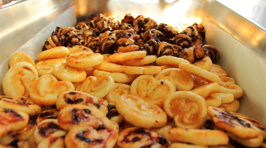 Palmiers & Mini croissants